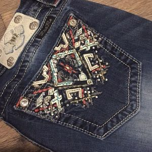 Miss Me Mid-Rise Easy Crop Jeans